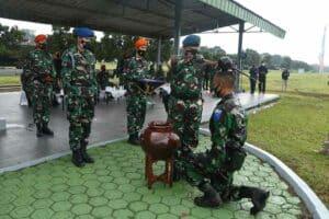 Dankorpaskhas Hadiri Upacara Pembukaan Tamtama Semata PK Angkatan Ke-80