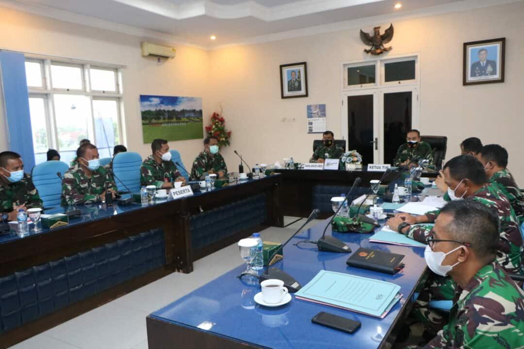 Danlanud Adi Soemarmo Buka Pokja Penyusunan Revisi Kurikulum Pendidikan Setukba TNI AU dan Sejursarta Radar