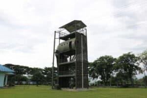 Verifikasi Kelaikan Fasilitas Instalasi Halang Rintang Skadik 204dan Mock Up Tower Lanud Sulaiman