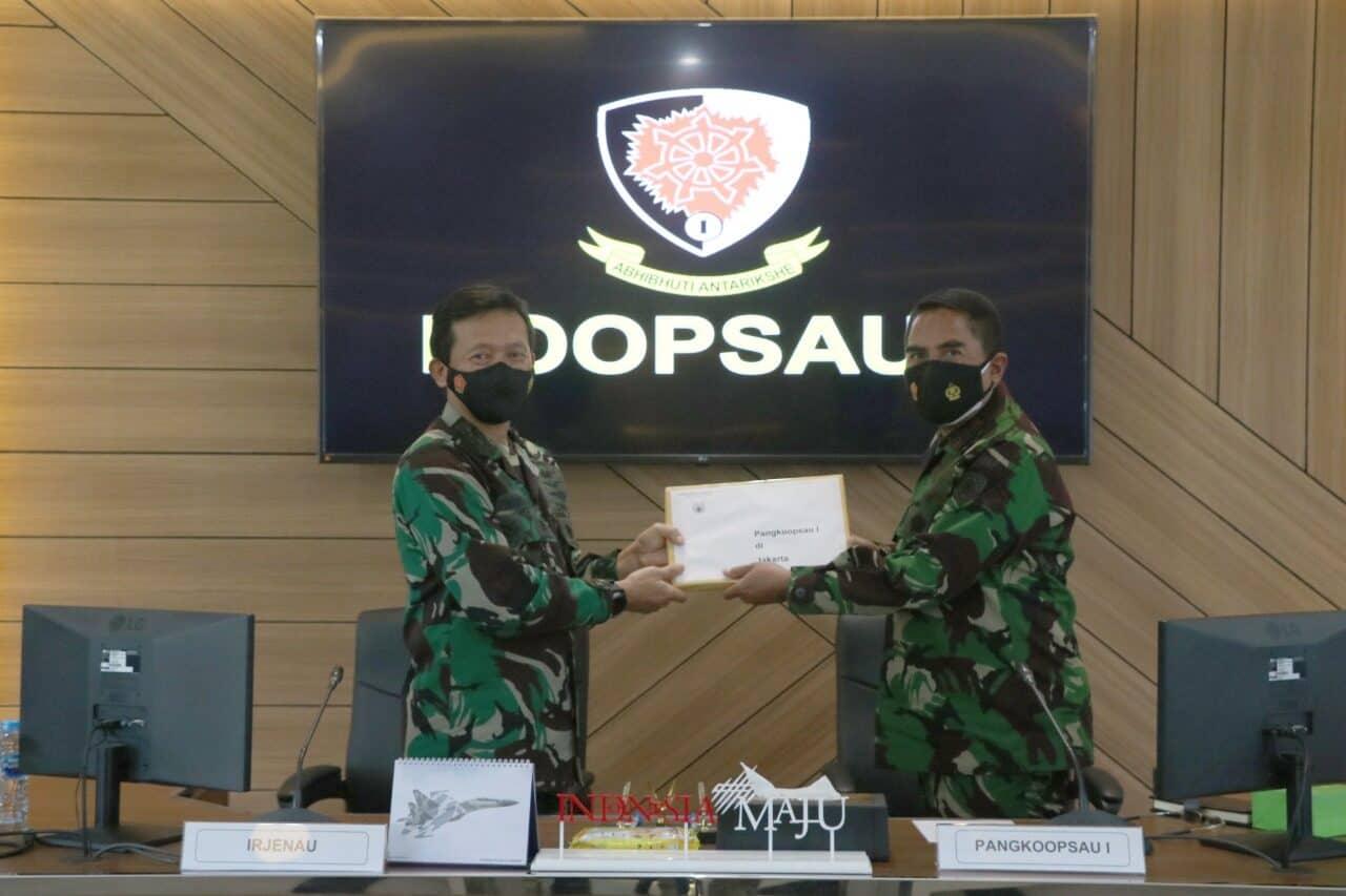 Wasrikkap Itjenau Akhiri Tugas di Koopsau I dan Jajaran