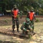 Mulai Pembangunan Kawasan Agrowisata, Danlanud Halim Tanam Padi