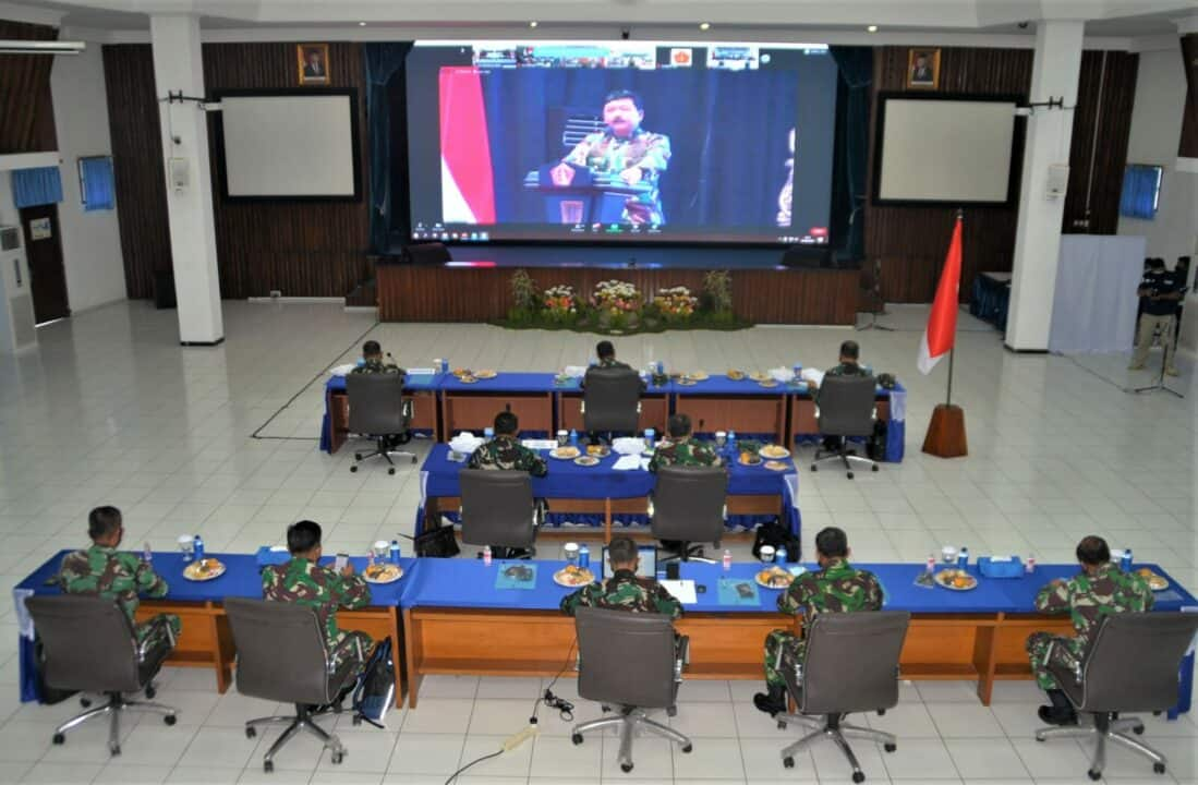 Rapim TNI Tahun 2021, Panglima TNI Ajak Berpikir Kreatif, Inovatif, Dan Adaptif