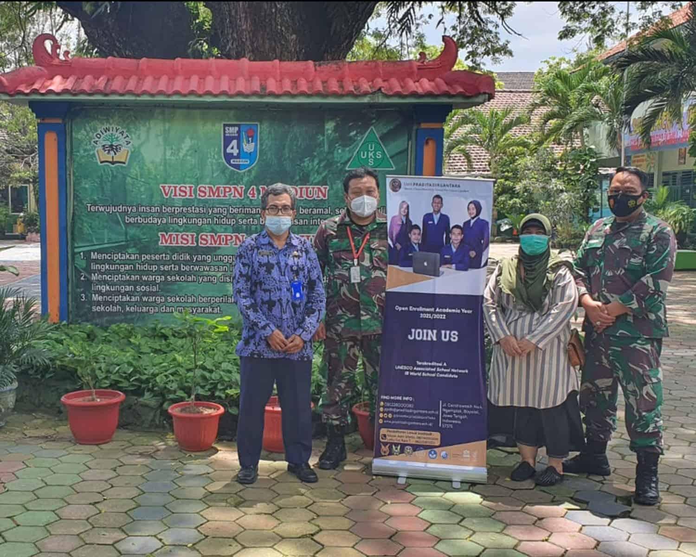 Tim PPDB SMA Pradita Dirgantara Lanud Iswahjudi Semakin Gencar Gelar Sosialisasi