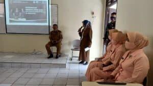 Tim PPDB SMA Pradita Dirgantara Lanud Sri Mulyono Di SMPN 46 Palembang