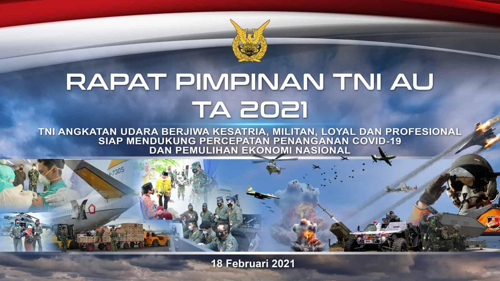 BACKDROP RAPIM TNI AU 2021