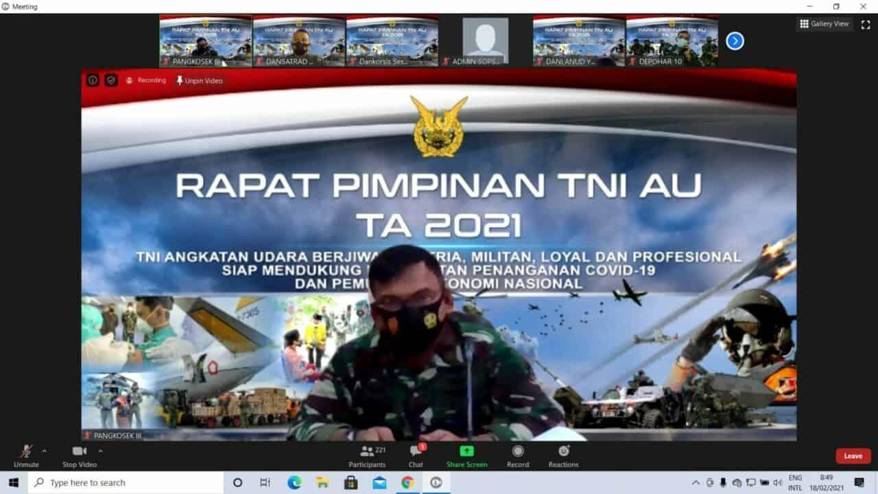 RAPIM TNI ANGKATAN UDARA TAHUN 2021