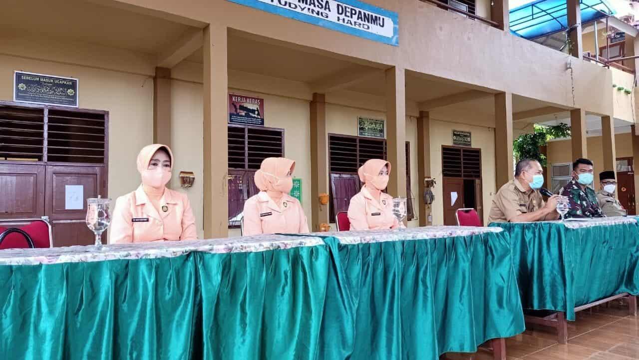 Lanud SMH Sosialisasikan PPDB SMA Pradita Dirgantara Di SMP 10 Palembang