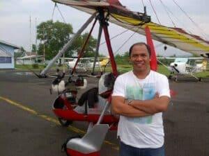 FASI Microlight DIY Laksanakan Trike Banner Flight Sosialisasikan Protokol Kesehatan