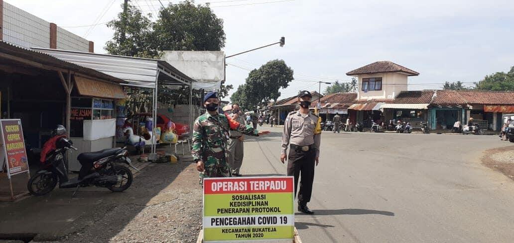 Satgas Covid-19 Lanud J.B. Soedirman di Purbalingga