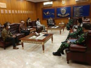 Pangkoopsau I Terima Kunjungan Dirut PT Garuda Indonesia (Persero) Tbk