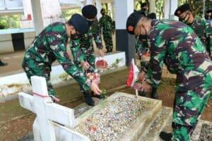 Kosekhanudnas II Laksanakan Ziarah Rombongan Memperingati Hut Kohanudnas ke 59