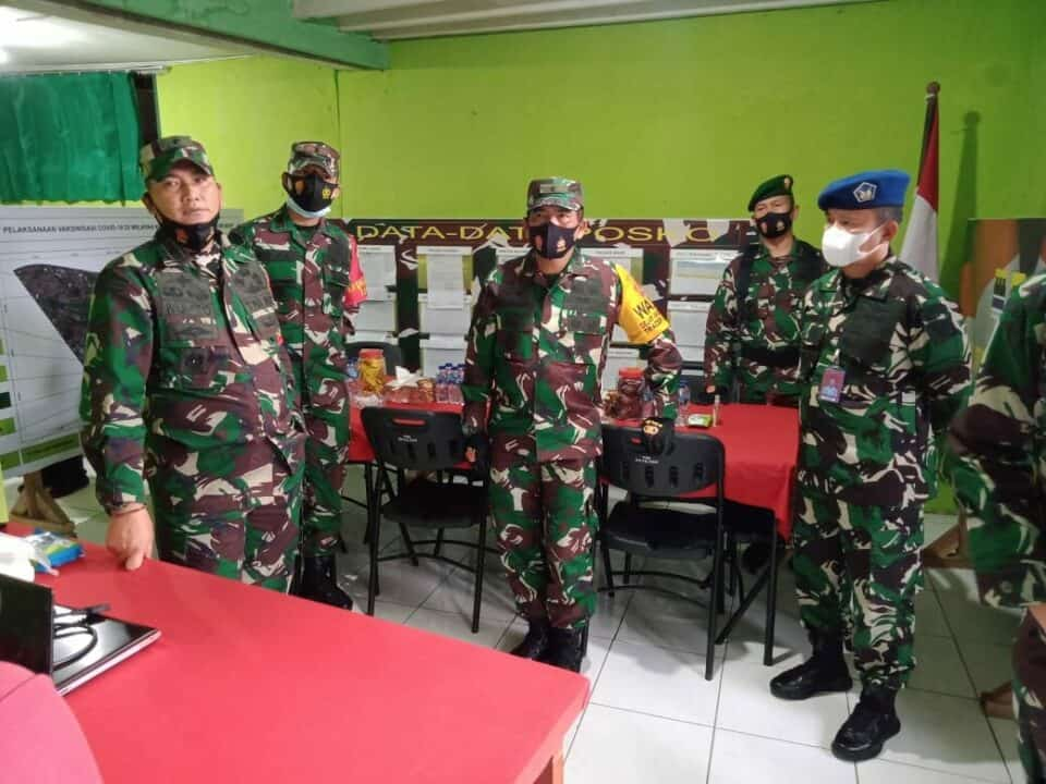 Wasev Mabes TNI di Kecamatan Cicendo