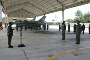 Dua Penerbang Skadron Udara 16 Berhasil Terbang Solo