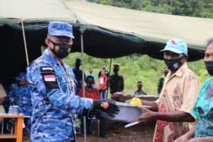 Penanaman Perdana Padi Gogo dan Berbagai Jenis Komoditi Sayuran di Desa Binaan Koopsau III