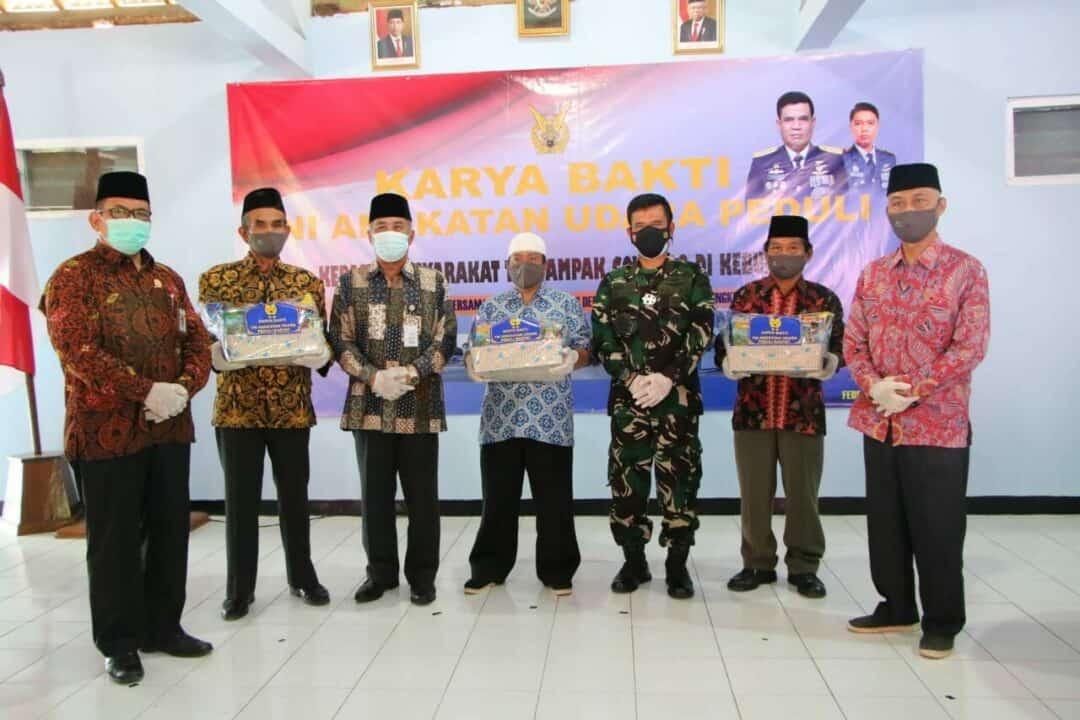 Aspotdirga Kasau Laksanakan Karya Bakti TNI AU di Kebumen Jawa Tengah