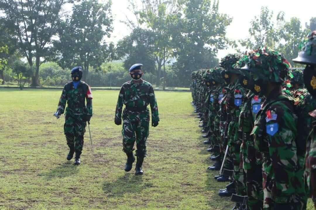 "Upacara Pembukaan Latihan Berganda ""Merak Sakti"" Prasis Semaba Wara Angkatan 46 di Lanud Adisutjipto."