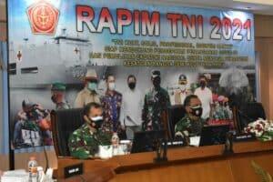 Danlanud Adisutjipto ikuti Rapim TNI 2021 bertempat di Akademi Angkatan Udara