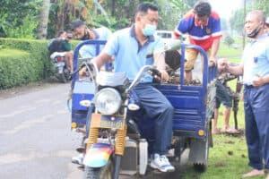 Gotong Royong di Lanud J.B. Soedirman