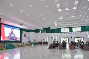 PANGKOSEKHANUDNAS III MENGIKUTI RAPIM TNI TAHUN 2021 DI KODAM I BUKIT BARISAN