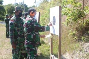 Lanud RSA Gelar Latihan Menembak Pistol