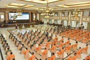 Panglima TNI beri pengarahan kepada Instruktur Penerbang, Pasis Sekbang dan Operator PTTA .