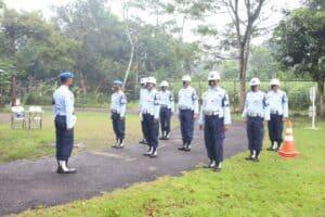 Satpomau Lanud J.B. Soedirman Gelar Sweeping Kendaraan Bermotor