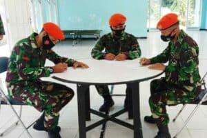 Satgas Ops Pamrahwan Papua TA. 2021 Gelar Bakti Sosial Donor Darah