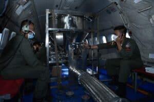 TNI AU Semai Garam NaCL, Kurangi Dampak Banjir Ibukota