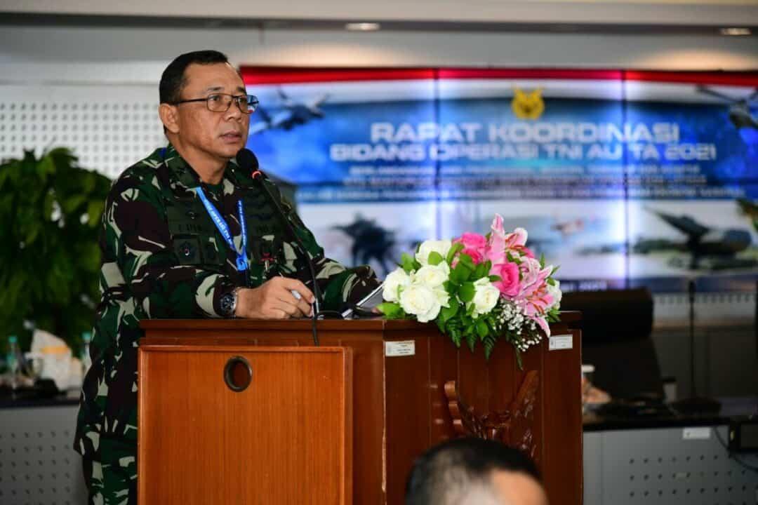 Rakorops TNI AU Tahun 2021, Asops Kasau: Tingkatkan Kemampuan Para Penerbang Yang Profesional, Modern, Tanggap, dan Adaptif