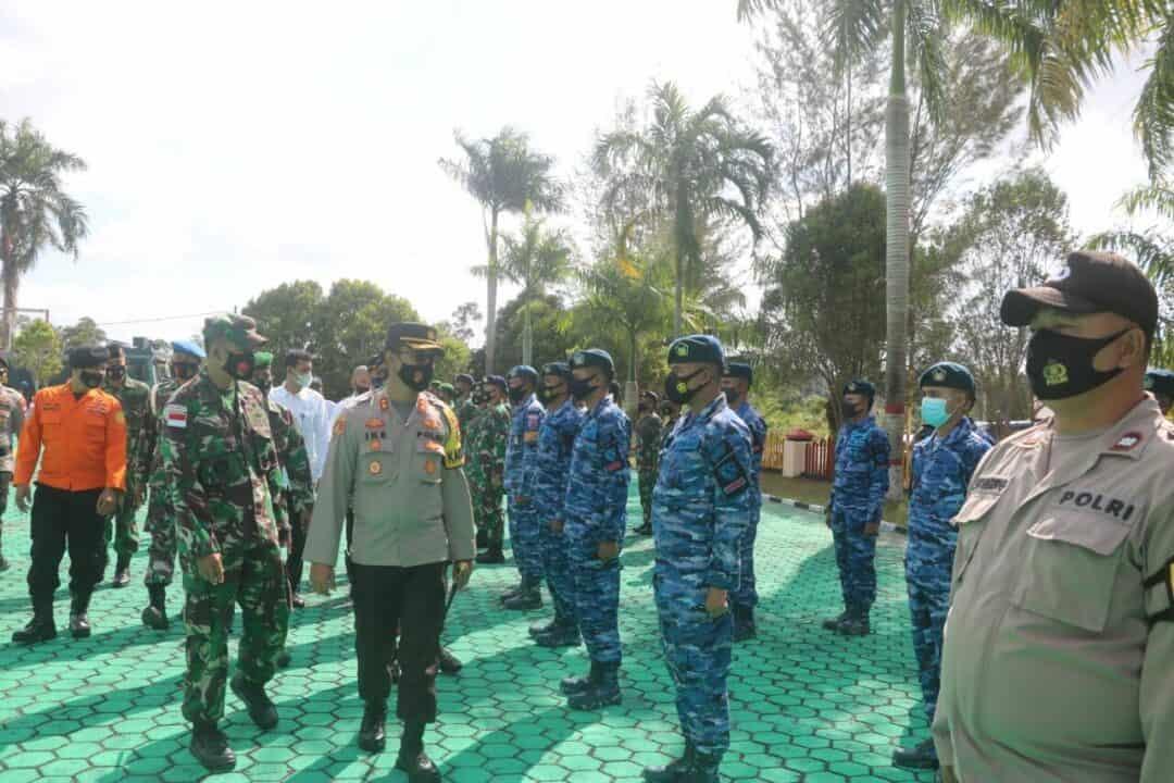Lanud RSA Ikuti Apel Kesiapsiagaan Penanggulangan karhutla di Polres Natuna