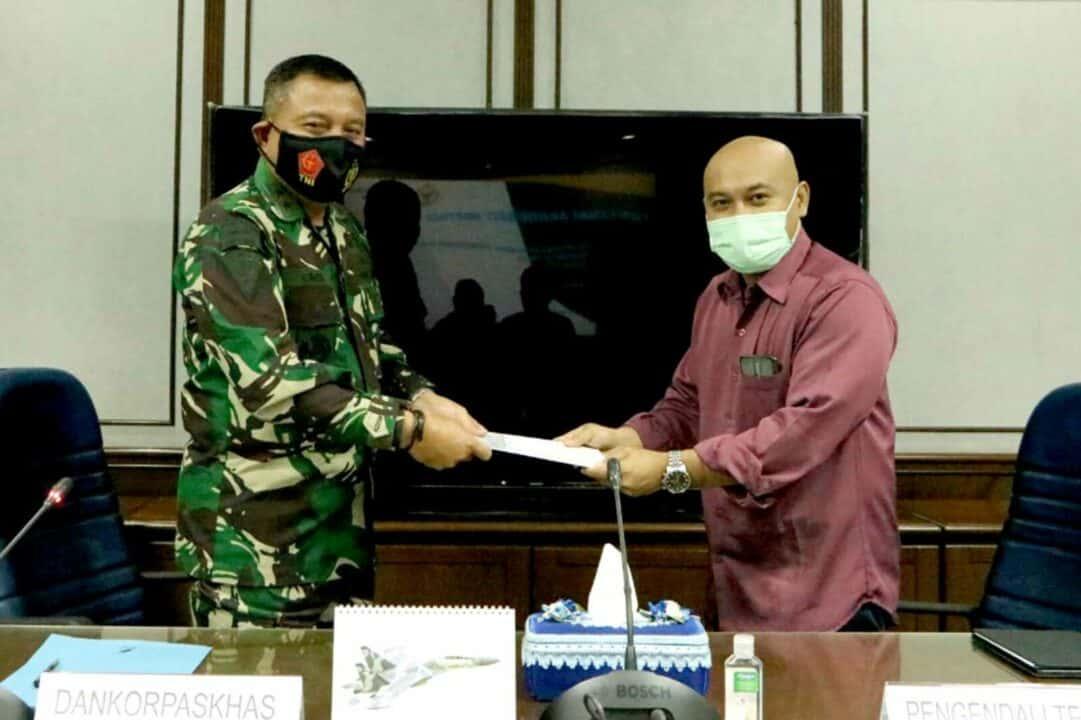 Dankorpaskhas Pimpin Exit Briefing BPK RI