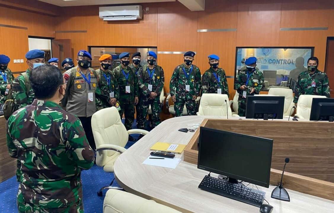 Pasis Seskoau Angkatan ke-58 dan Sesau Angkatan ke-15 Kuliah Kerja di Koopsau I