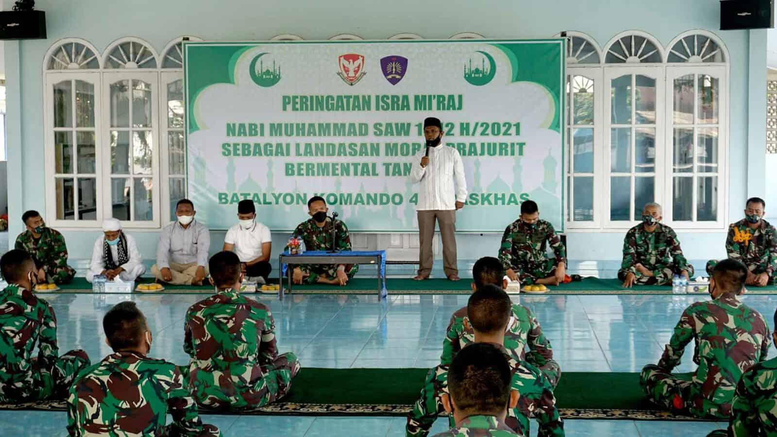 Yonko 462 Paskhas Peringati Isra' Mi'raj Nabi Muhammad Saw 1442 Hijriyah