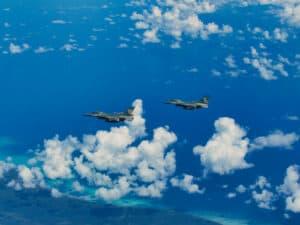 Jaga Wilayah Udara Indonesia, Lanud Rsn Kerahkan 1 Flight F-16