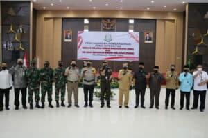 Danlanud Rsn Hadiri Pencanangan Pembangunan Zona Integritas Kajati Riau
