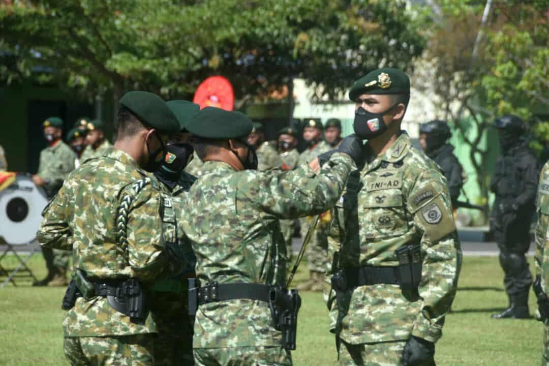 Danlanud Wiriadinata Menghadiri Sertijab Danbrigif Raider 13