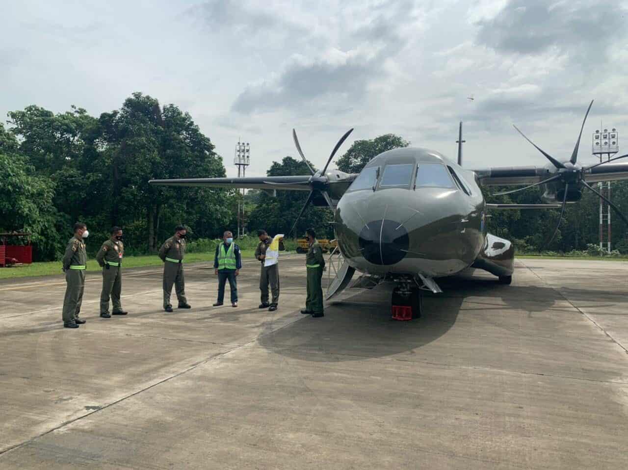 Dukung Program Pemerintah, TNI AU Siagakan Pesawat Untuk TMC