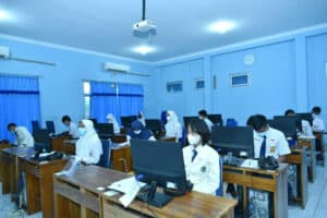 Tes Seleksi Akademis Casis SMA Pradita Dirgantara di Lanud Adisutjipto.