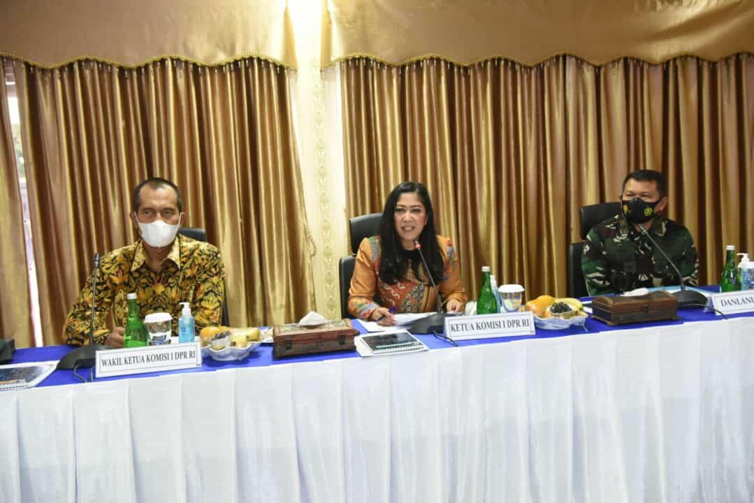 Komisi I DPR RI Dukung Pelaksanaan Tugas Lanud Rsn
