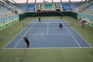Tim Danlanud Rsn Sabet Juara 1 Kejuaraan Tenis Lapangan