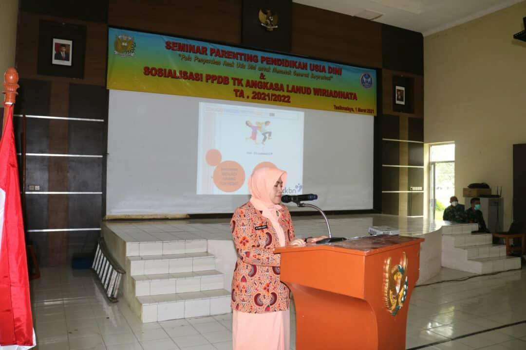 Yasarini Lanud Wiriadinata Gelar Seminar Parenting Pendidikan Usia Dini Dan Sosialisasi PPDB TK Angkasa