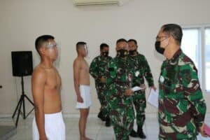 Lanud Dhomber Gelar Sidang Pantukhirda Casis Tamtama TNI AU Gelombang II Ta 2021