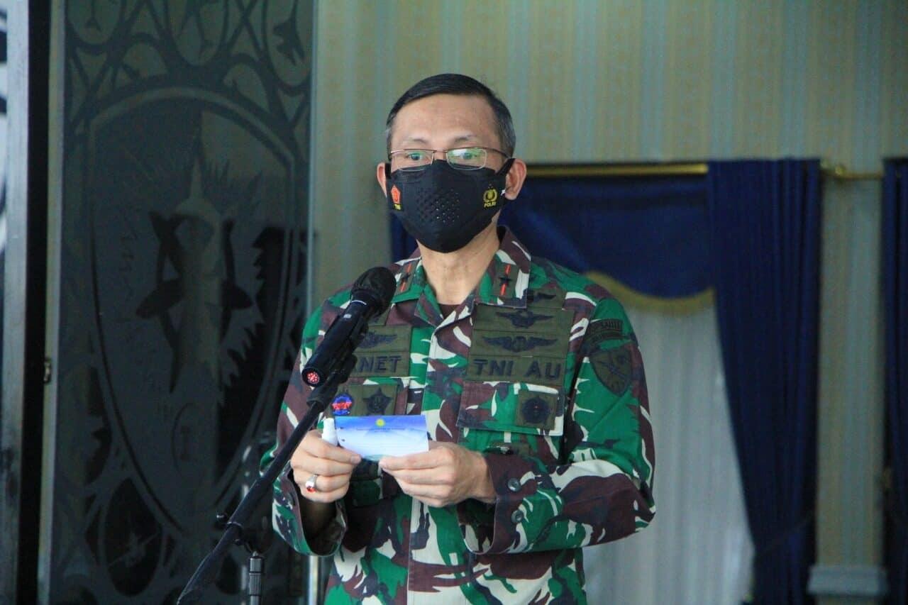 Awali Tugasnya, Danlanud Sultan Hasanuddin Adakan Entry Briefing