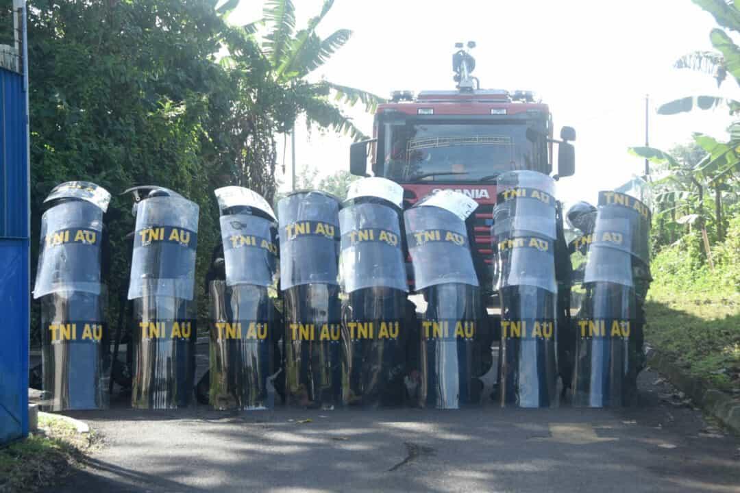Antisipasi Kerusuhan Lanud Wiriadinata Gelar Latihan PHH