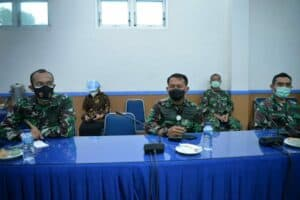 Exit Briefing Wasrik BPK RI DI Lanud Sultan Hasanuddin