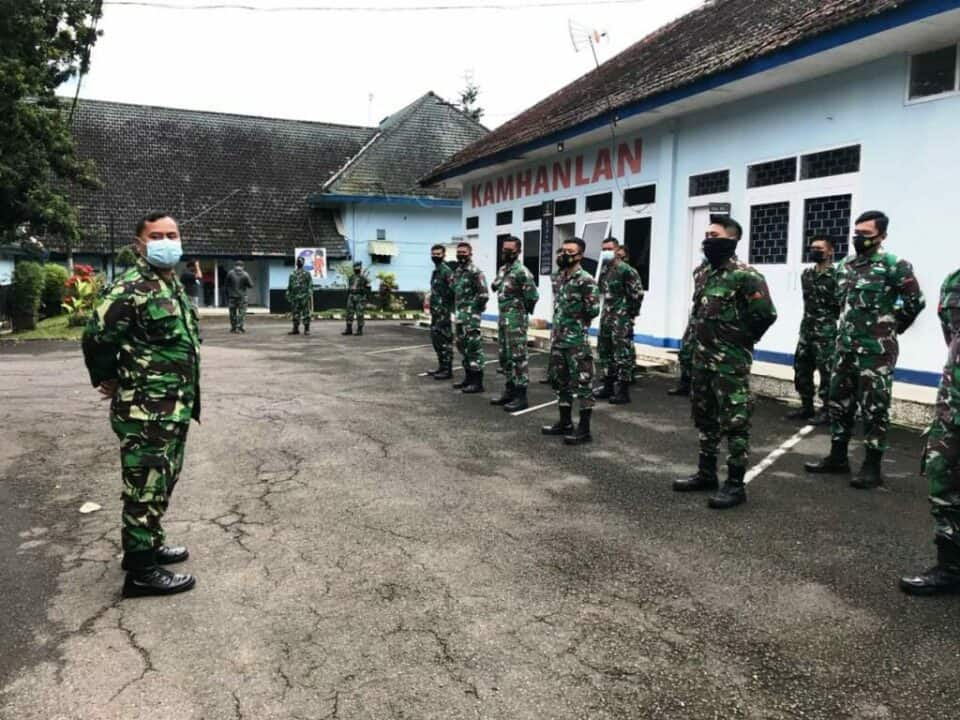 Lanud Abd Saleh Kirim Satu Peleton Prajurit TMMD ke-110 ke Bojonegoro