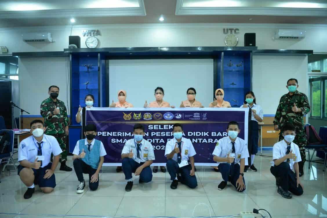 Seleksi Penerimaan Peserta Didik Baru (PPDB) SMA Pradita Dirgantara Oleh Panitia Daerah (Panda) Lanud Sultan Hasanuddin