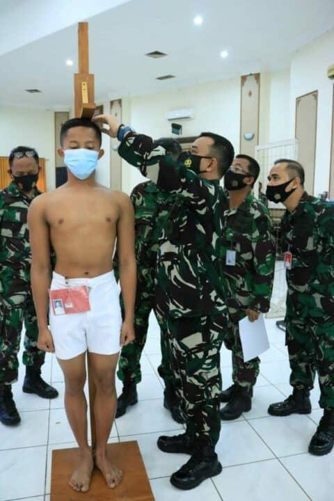 Danlanud Iswahjudi Pimpin Sidang Pantukhirda 119 Calon Tamtama Gel. II TA. 2021