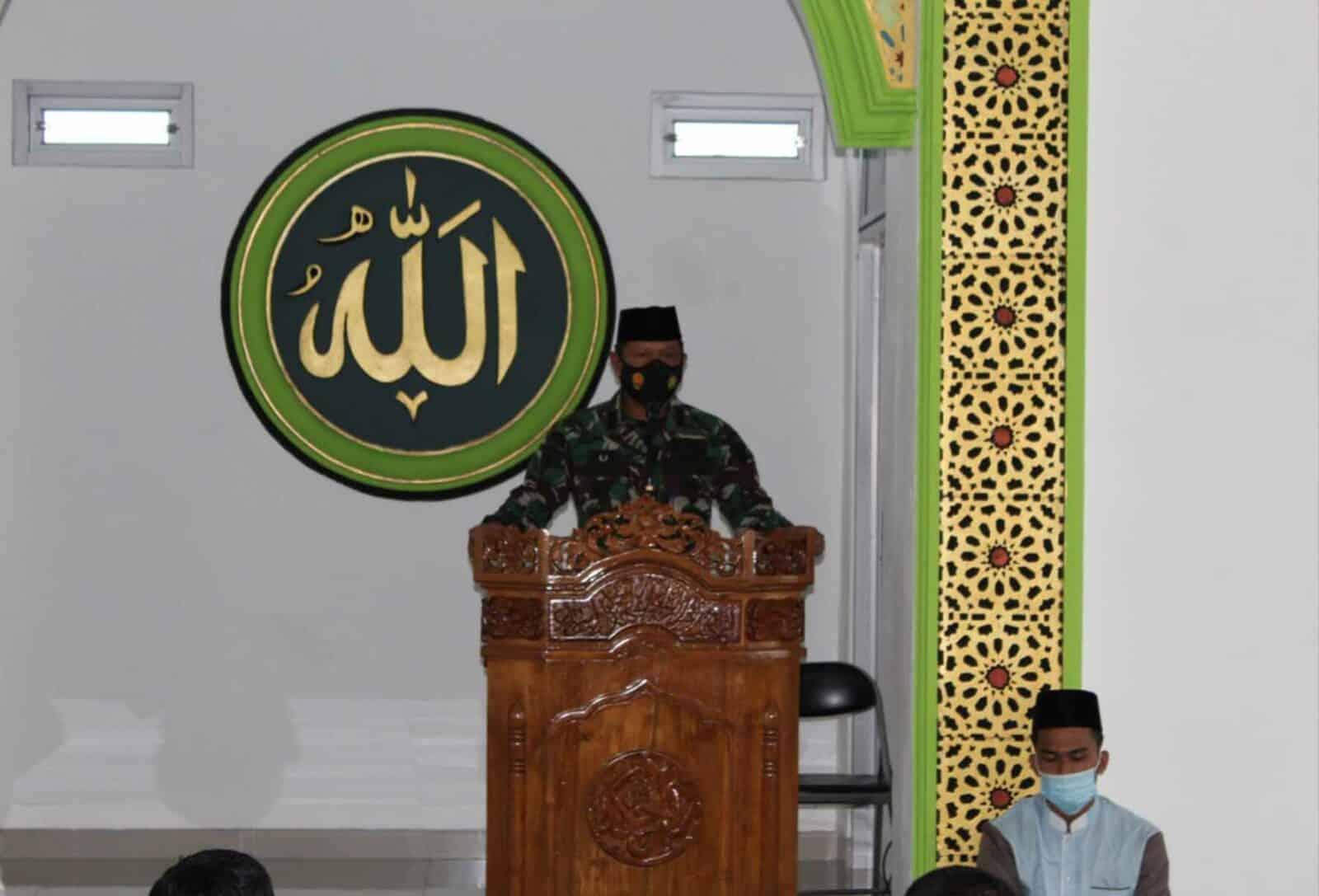 Peringati Isra Mi'raj Nabi Muhammad SAW 1442 H/2021 M, Wing III Paskhas Gelar Do'a Bersama