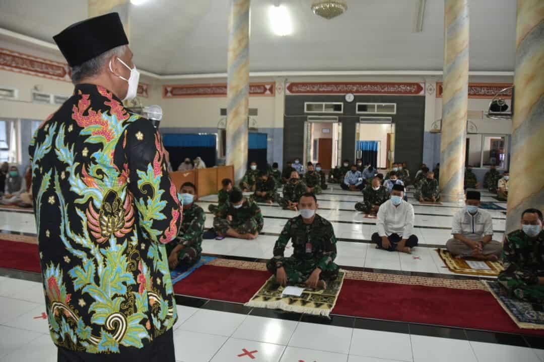 Peringatan Isra Mi'raj di Lanud Husein Sastranegara